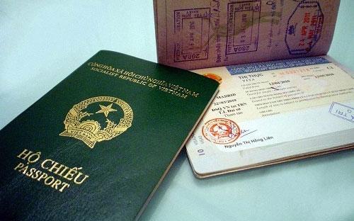 Cuốn hộ chiếu của Việt Nam - Ảnh minh họa.<br>