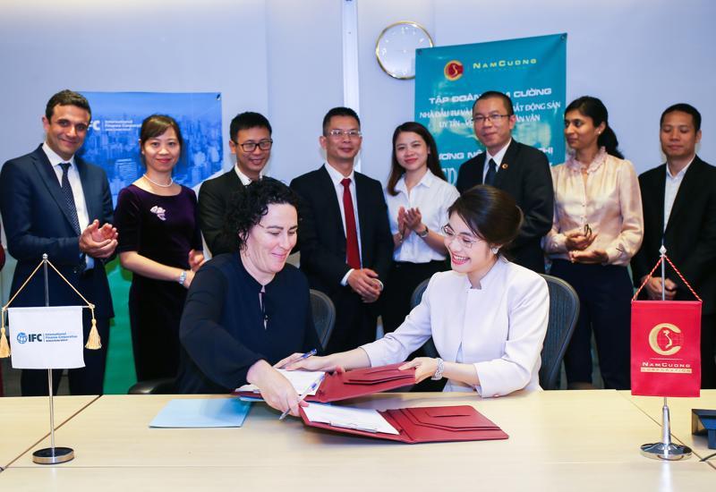 IFC đánh giá cao những nỗ lực của Tập đoàn Nam Cường góp phần thúc đẩy xu hướng xây dựng các công trình xanh ở Việt Nam.