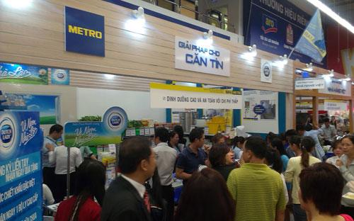 """""""Hội chợ Horeca"""" được tổ chức tại 6 trung tâm gồm: Metro An Phú, Metro  Thăng Long, Metro Bình Phú, Metro Đà Nẵng, Metro Hiệp Phú, và Metro Nha  Trang."""
