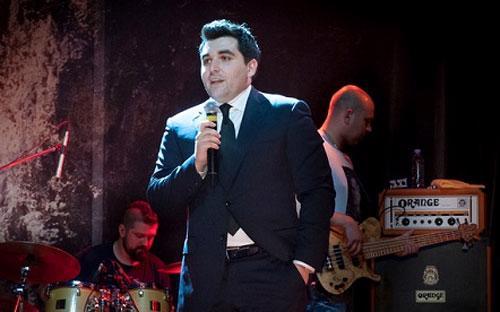 Kim Karapetyan phát biểu tại buổi tiệc của Blackfield Capital.