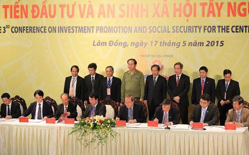 Mô hình hợp tác ba bên cùng phát triển mắc-ca được triển khai tại Lâm Đồng và hướng tới nhân rộng tại các tỉnh Tây Nguyên.
