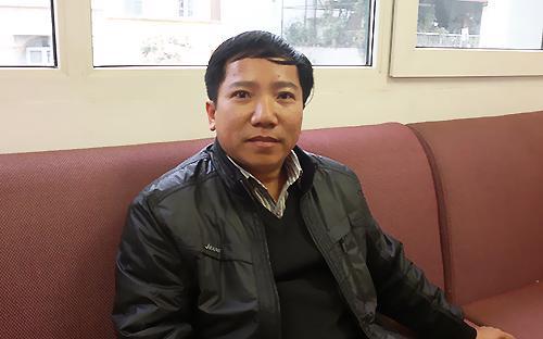 Anh Lê Trọng Nghĩa, một nhà kinh doanh chứng khoán - Ảnh: Khánh Hà.<br>