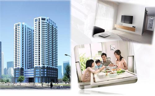 Dự án có quy mô gồm 3 tòa tháp cao 29 tầng, 5 tầng thương mại dịch vụ, 2 tòa căn hộ và 1 tòa văn phòng, 3 tầng hầm để xe... được xây dựng trên tổng diện tích khu đất 7.106 m2, diện tích đất xây dựng 2.759 m2.