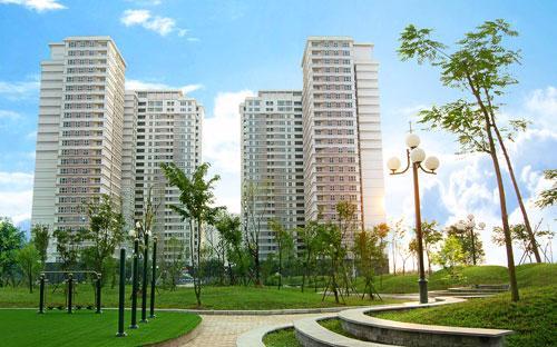 Các tổ hợp chung cư The Sparks của Nam Cường đã hoàn thiện với đầy đủ các dịch vụ, tiện ích.<br>