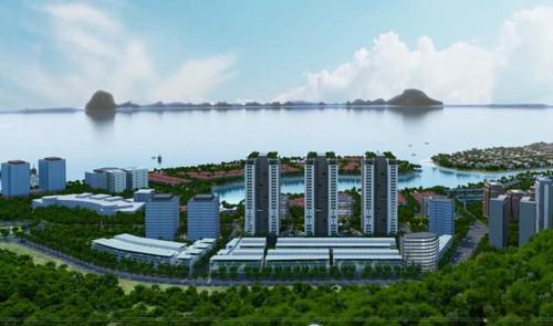 Mô hình tổng thể dự án Newlife Tower.<br>