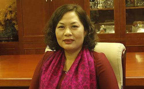 Bà Nguyễn Thị Hồng, Phó thống đốc Ngân hàng Nhà nước.<br>