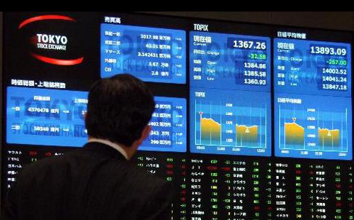 """Tính từ cuối tháng 6/2015 đến nay, hơn 10 nghìn tỷ USD đã """"bốc hơi"""" khỏi thị trường chứng khoán toàn cầu - Ảnh: Reuters."""