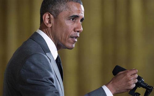 Tổng thống Mỹ Barack Obama - Ảnh: Getty/CBS.<br>