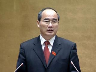 Chủ tịch Mặt trận Tổ quốc Việt Nam Nguyễn Thiện Nhân.