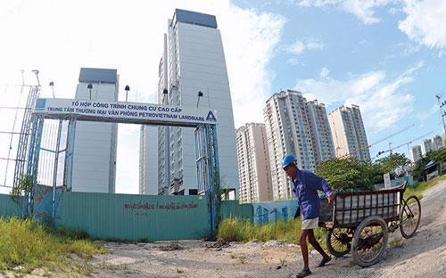Một dự án bất động sản của PVC tại Tp.HCM.<br>