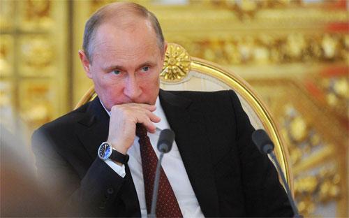 Tổng thống Nga Vladimir Putin.<br>
