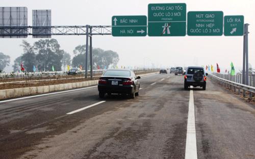 Quốc lộ 3 mới Hà Nội-Thái Nguyên được khởi công từ tháng 11/2009 với  tổng chiều dài 63,8 km đường đi qua 3 địa phương là Hà Nội, Bắc Ninh,  Thái Nguyên.