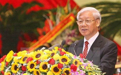 Tổng bí thư Nguyễn Phú Trọng - Ảnh: TTXVN.