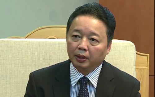 Thứ trưởng Bộ Tài nguyên và Môi trường Trần Hồng Hà.<br>