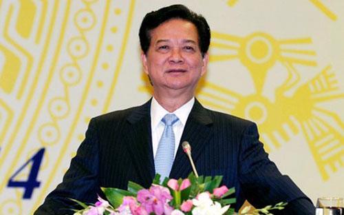 Thủ tướng Nguyễn Tấn Dũng nhấn mạnh việc chủ động cung cấp thông tin trong phương hướng hoạt động 2014 của Văn phòng Chính phủ.