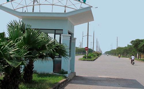 Một góc nhà máy nơi Công ty TNHH Kingmo New Materials Việt Nam đặt trụ sở<strong>.<br></strong>