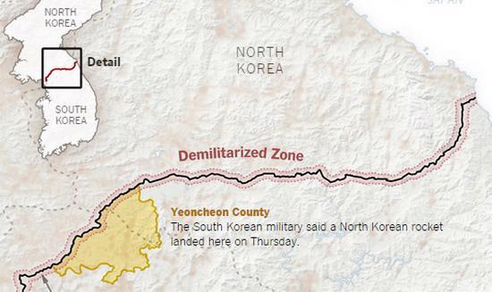 Số lượng tàu ngầm mà phía Triều Tiên triển khai lần này cao chưa từng có - Ảnh: New York Times.<br>