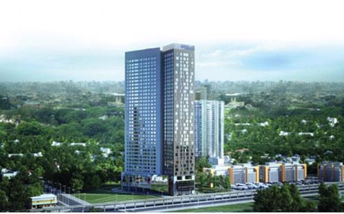 """FLC Complex tọa lạc tại vị trí """"vàng"""" trên mặt đường Phạm Hùng."""