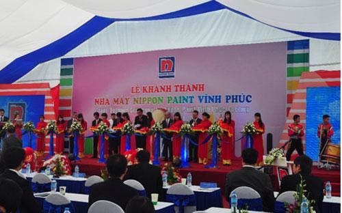 Nippon Paint đã khai trương nhà máy thứ 3 tại khu công nghiệp Bá Thiện II, tỉnh Vĩnh Phúc.