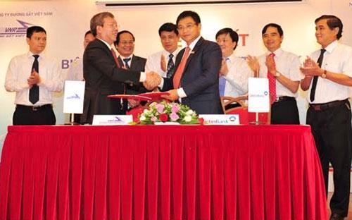 <div>Vietinbank ký biên bản ghi nhớ với Tổng công ty Đường sắt Việt Nam.</div>