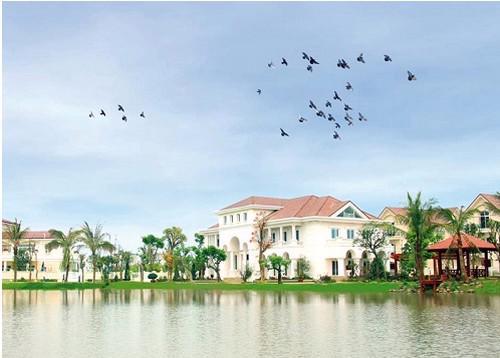 """Biệt thự Anh Đào Vinhomes Riverside hiện đang  """"chiếm lĩnh"""" thị trường phân khúc biệt thự sinh thái cao cấp."""