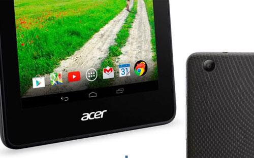 Bộ nút cảm ứng trên màn hình Iconia B1-730.