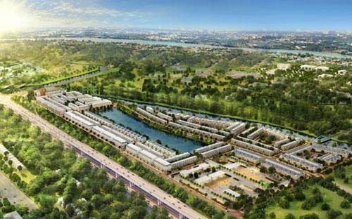 Những khu đô thị tổ hợp, giàu tính sinh thái đang là điếm đến của nhiều nhà đầu tư.