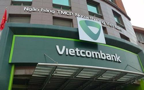 Hội sở của Vietcombank.