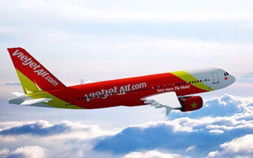 """Cùng với Vietnam Airlines, Vietjet Air là hãng hàng không được chọn để thử nghiệm cho """"đường bay vàng"""".<br>"""