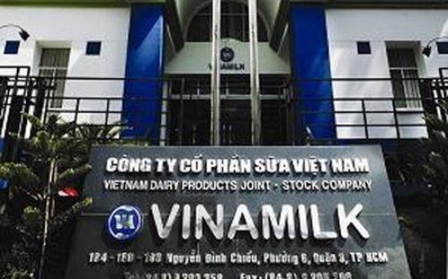 Công ty Bất động sản Quốc tế của Vinamilk có trụ sở đặt tại Công ty mẹ.