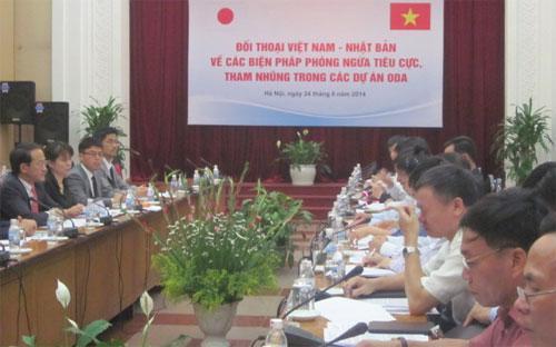 """Khác với cuộc họp tại Bộ Giao thông Vận tải hồi đầu tháng 6/2014, lần này ở Bộ Kế hoạch và Đầu tư chỉ """"họp kín"""" - Ảnh: VTC.<br>"""