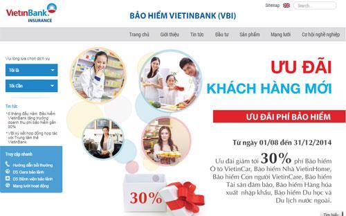 VBI đã chính thức ra mắt website mới http://vbi.vietinbank.vn với mong  muốn mang đến cho khách hàng, nhà đầu tư và đối tác một website giao  diện mới, hiện đại, gần gũi và nhiều tiện ích hơn với người sử dụng.