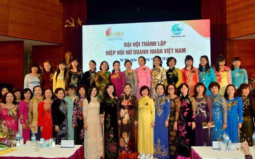Hiệp hội Nữ doanh nhân Việt Nam (VAWE) ra đời đánh dấu sự hiện diện  chính thức của một tổ chức có tư cách pháp nhân dành riêng cho nữ doanh  nhân Việt Nam, với mục tiêu tập hợp, đoàn kết, hỗ trợ, phát huy năng  lực, vai trò của nữ doanh nhân vì sự phát triển bền vững của đất nước.