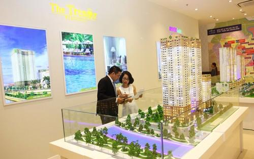 Sàn giao dịch thứ 12 vừa khai trương của Tập đoàn Novaland tại 79-Trần Hưng Đạo, Quận 1, Thành phố Hồ Chí Minh.