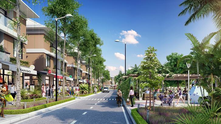 An Phú Shop-villa được xây dựng theo tiêu chuẩn chứng chỉ xanh EDGE - chứng chỉ trao cho các công trình xanh, tiết kiệm thấp nhất 20% hóa đơn điện nước.