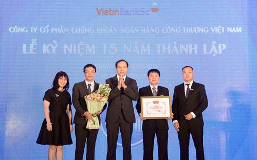 Sau 15 năm hoạt động, VietinBankSc liên tục báo lãi trong tất cả các năm tài chính kể từ khi thành lập.