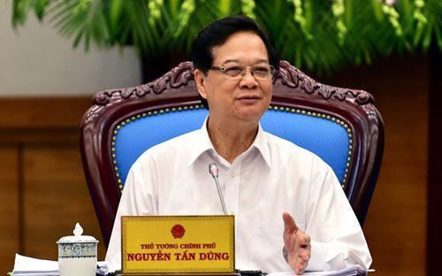 Thủ tướng Nguyễn Tấn Dũng.<strong> </strong>