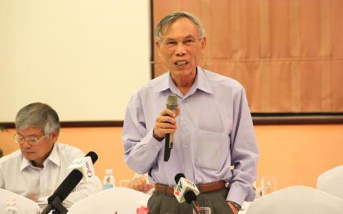 Ông Trương Đình Tuyển phát biểu tại Diễn đàn Kinh tế mùa xuân - Ảnh: CK.<br>