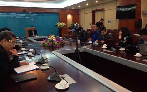 Buổi họp báocông bố kết luận thanh tra đột xuất báo Người cao tuổi, sáng 9/2 tại Bộ Thông tin và Truyền thông.