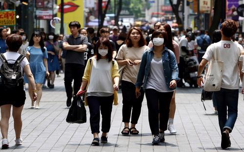 MERS có kể dẫn đến một đợt suy giảm kinh tế tại Hàn Quốc - Ảnh: Bloomberg.