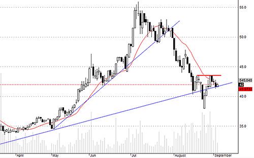 VCB hôm nay có áp lực bán giảm đáng kể và cầu bắt đầu nâng giá.