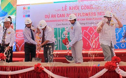 Lễ khởi công dự án<b> </b>Cam Ranh Flowers Resort ngày 4/3.<b><br></b>