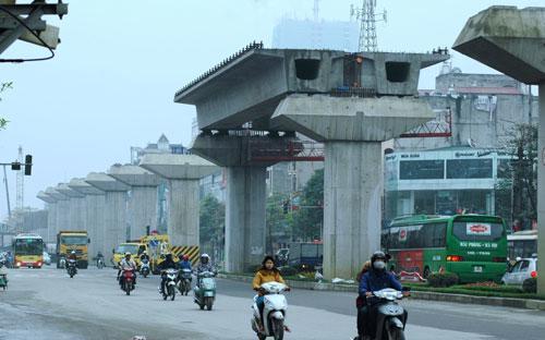Dự án đường sắt Cát Linh - Hà Đông thời gian qua đã để xảy ra nhiều tai nạn nghiêm trọng.<br>