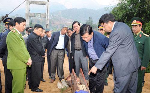 Vụ tai nạn sập cầu treo Chu Va 6 đã gây thiệt hại lớn về người.<br>