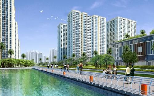 Các căn hộ tại Times City được thiết kế theo tiêu chuẩn căn hộ cao cấp với diện tích từ 51m2 đến hơn 100m2.