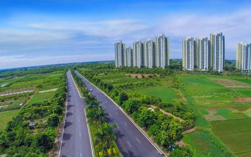 Một góc đường liên tỉnh Hà Nội - Hưng Yên.<br>