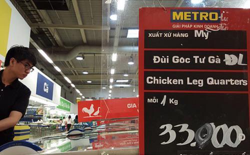 7 tháng đầu năm 2015, Việt Nam đã nhập khẩu 45.651 tấn thịt gà Mỹ, tương đương 49% tổng lượng thịt nhập khẩu trong thời gian này.<br>