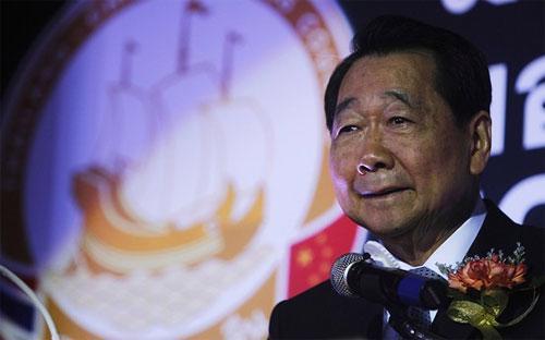 Tỷ phú Thái Lan Dhanin Chearavanont - Ảnh: WSJ/Reuters.<b><br></b>