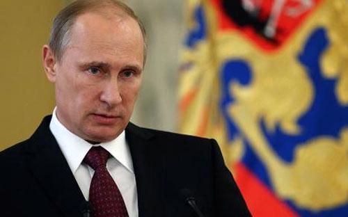 Tổng thống Nga Vladimir Putin - Ảnh: Getty.<br>