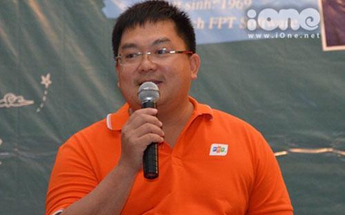 Ông Hoàng Nam Tiến, Chủ tịch FPT Software (thuộc tập đoàn FPT).